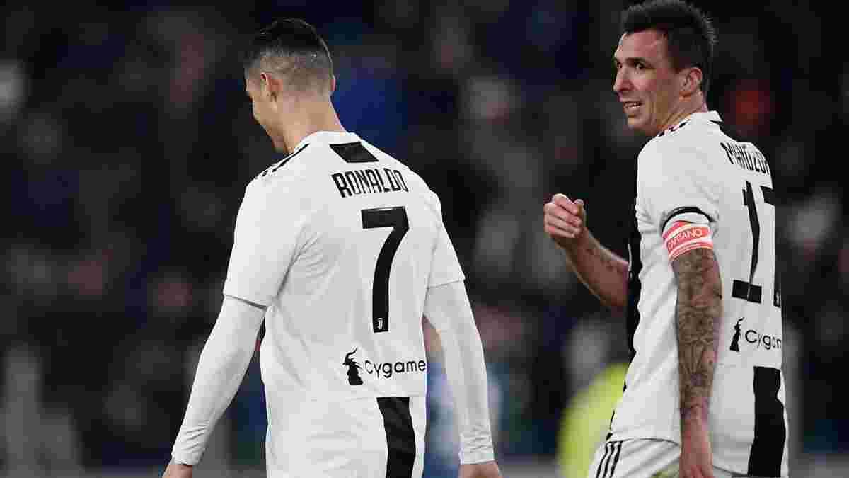 """Роналду в дербі з Торіно """"вкрав"""" гол Манджукіча"""