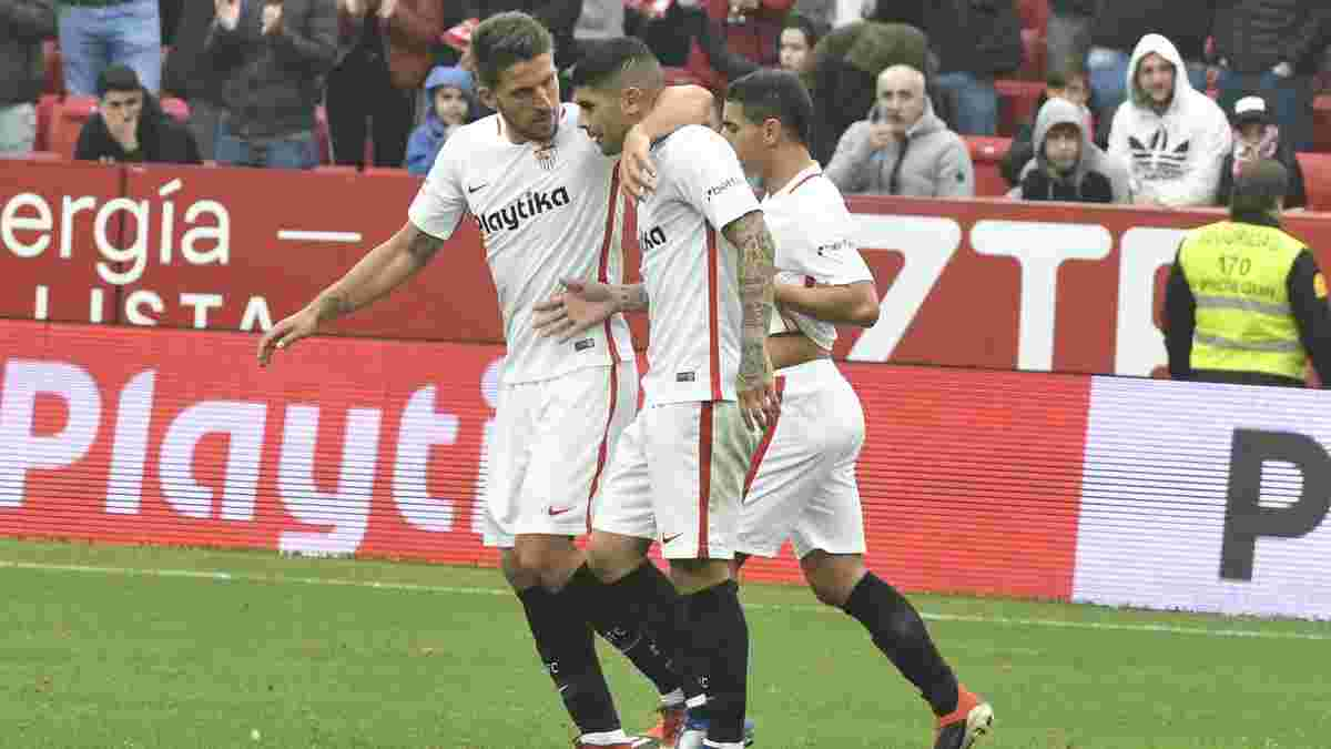 Севилья – Жирона – 2:0 – видео голов и обзор матча