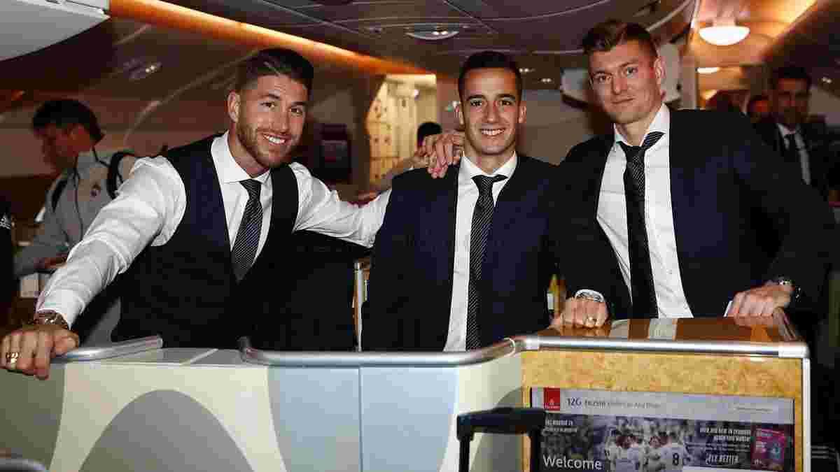 Реал прибыл в Абу-Даби на матч 1/2 финала Клубного чемпионата мира