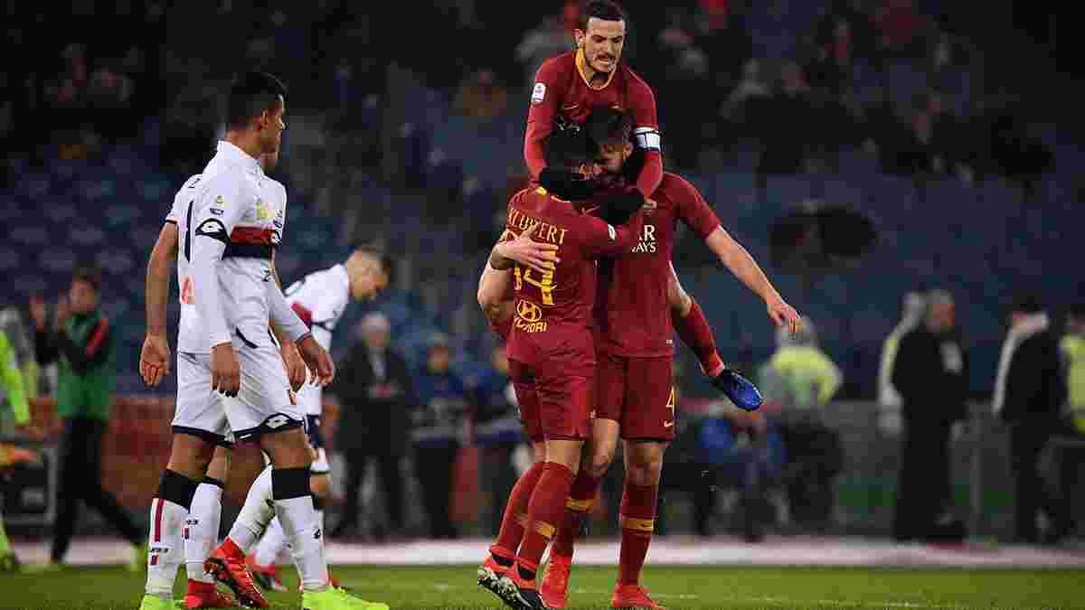 Рома – Дженоа – 3:2 – відео голів та огляд матчу