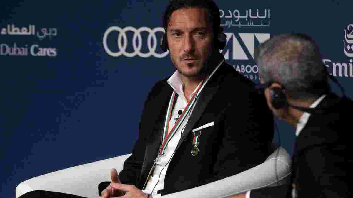 Тотти – о жеребьевке Лиги чемпионов: Роме, очевидно, повезло