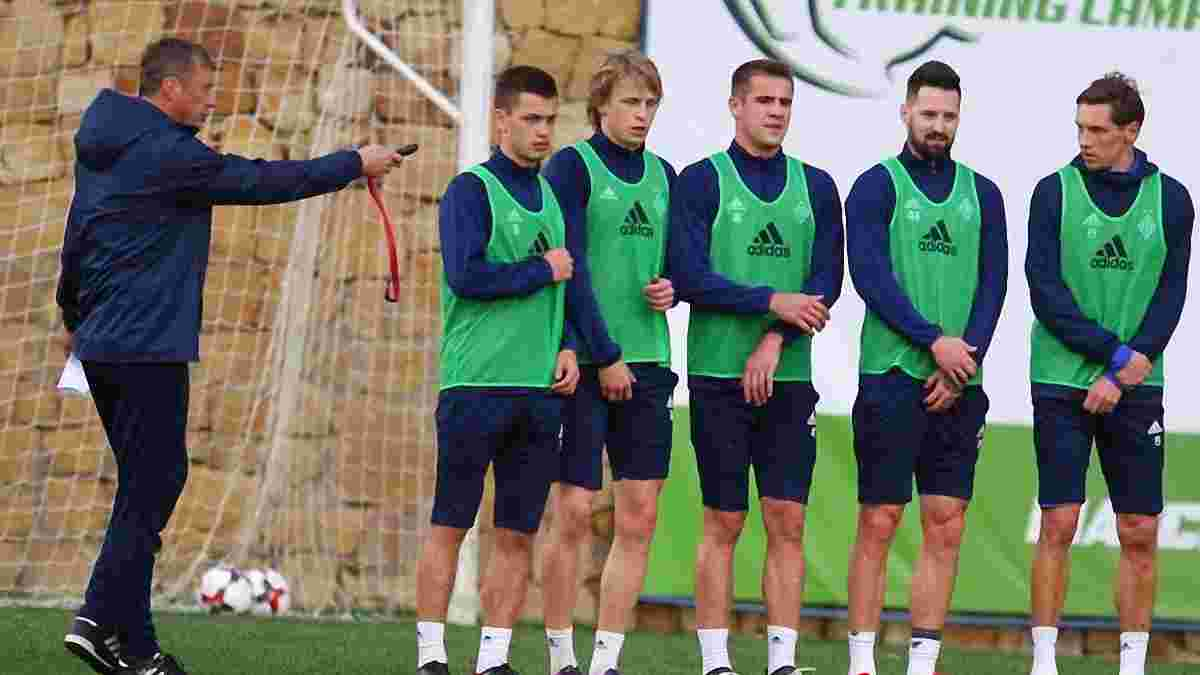 Динамо проведе 5-6 спарингів у рамках підготовки до Олімпіакоса – відомий графік киян під час зимових зборів