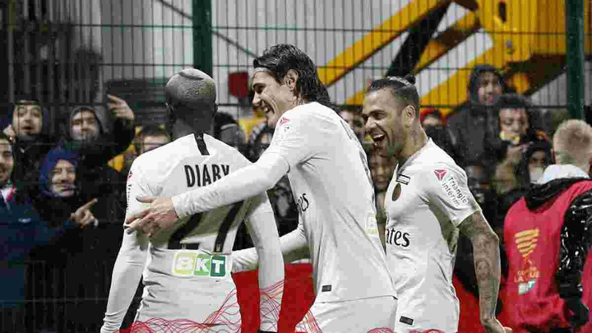 ПСЖ победил Орлеан и вышел в 1/4 финала Кубка французской лиги