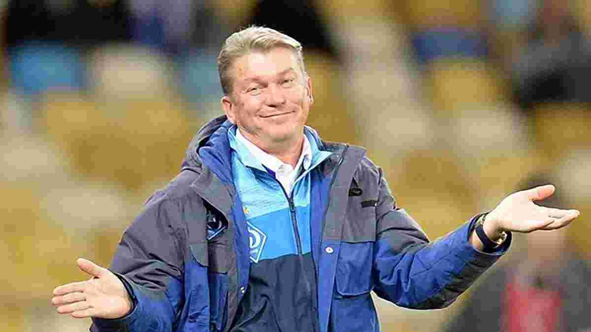 Блохін: Динамо не поступається Олімпіакосу за рівнем майстерності – в обох команд є проблеми