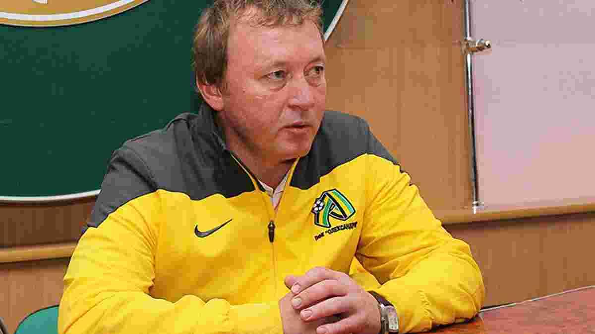Шаран назвал трансферные цели Александрии – команду ожидает значительное усиление