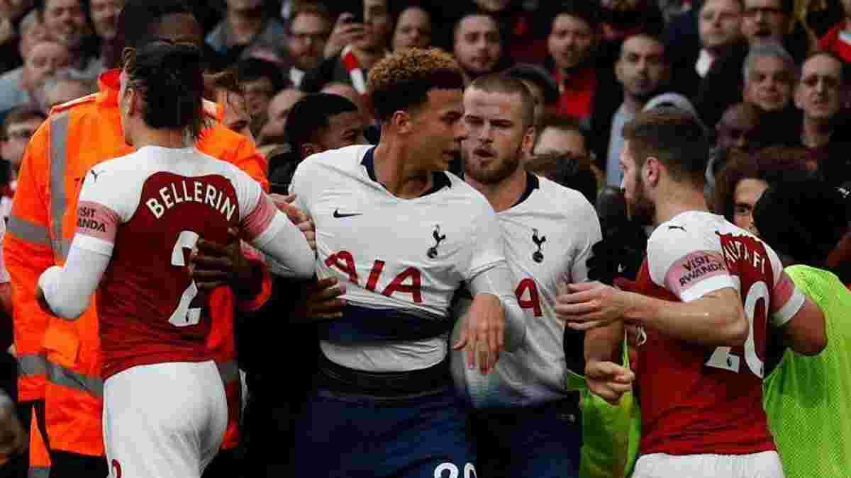 Арсенал и Тоттенхэм оштрафуют за неспортивное поведение игроков