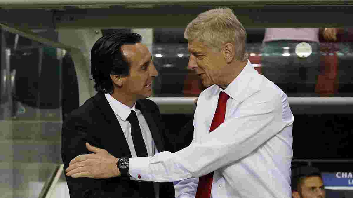 Венгер оценил работу Эмери на посту главного тренера Арсенала