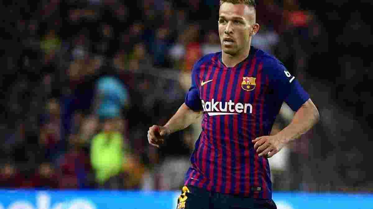 Артур: Молюсь о том, чтобы Неймар вернулся в Барселону