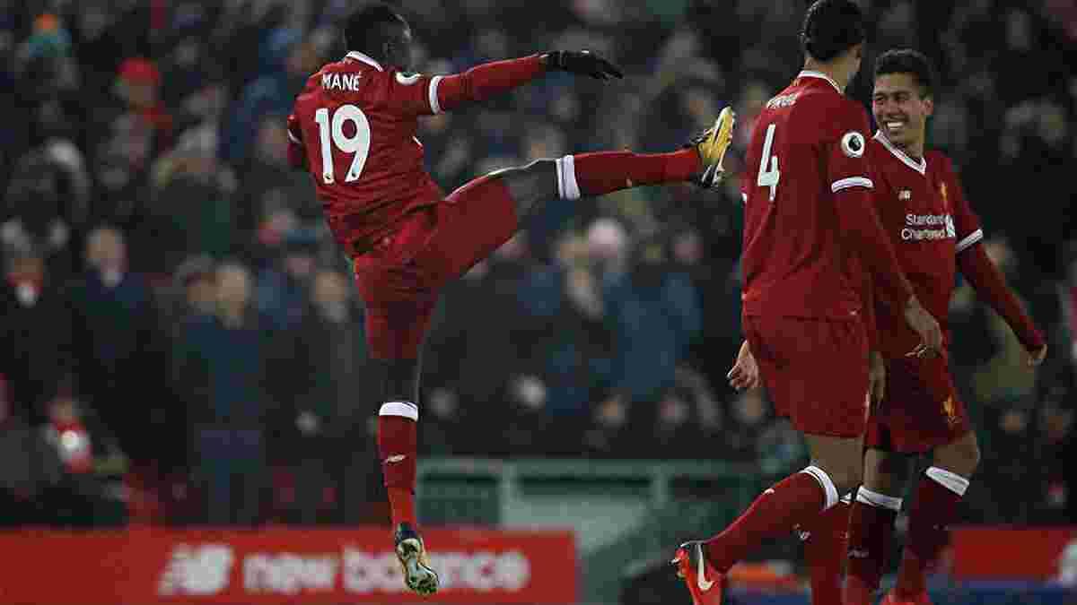 Ліверпуль впевнено переміг Ньюкасл та  відірвався від Манчестер Сіті на 7 очок