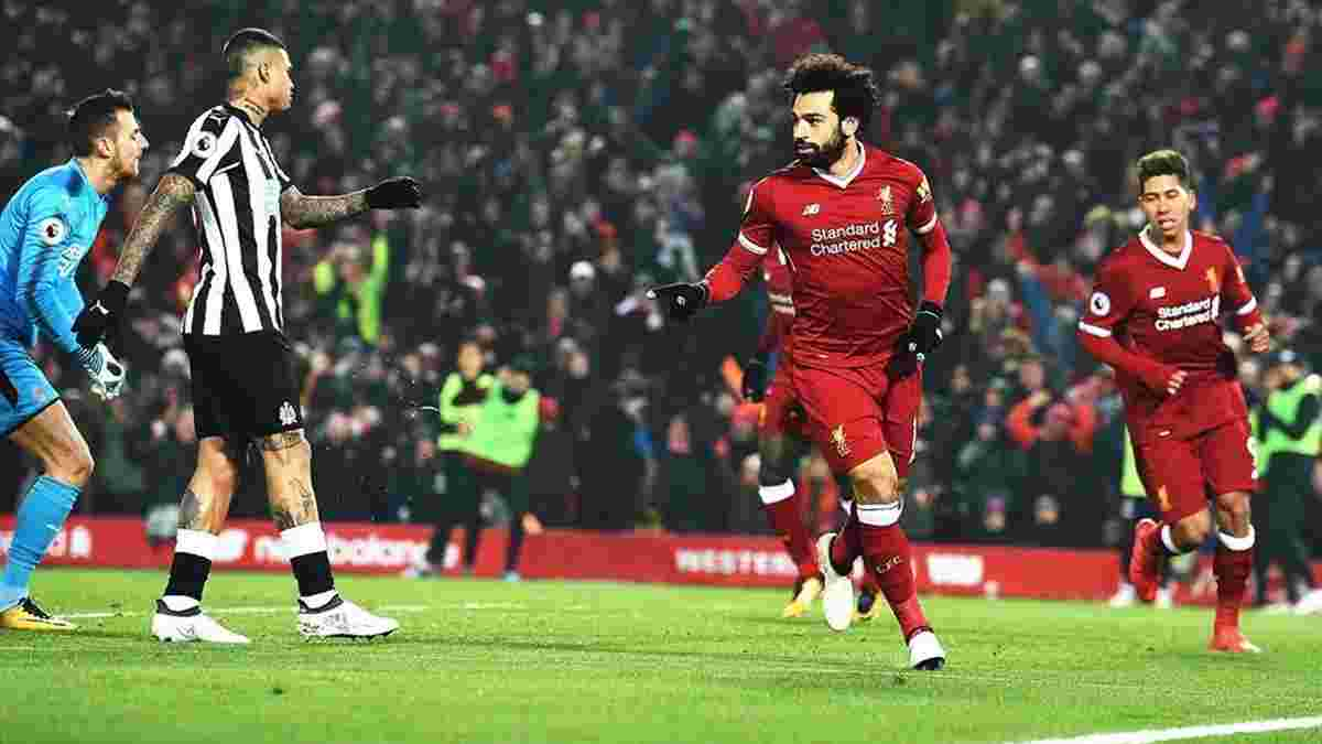 Ливерпуль – Ньюкасл – 4:0 – видео голов и обзор матча