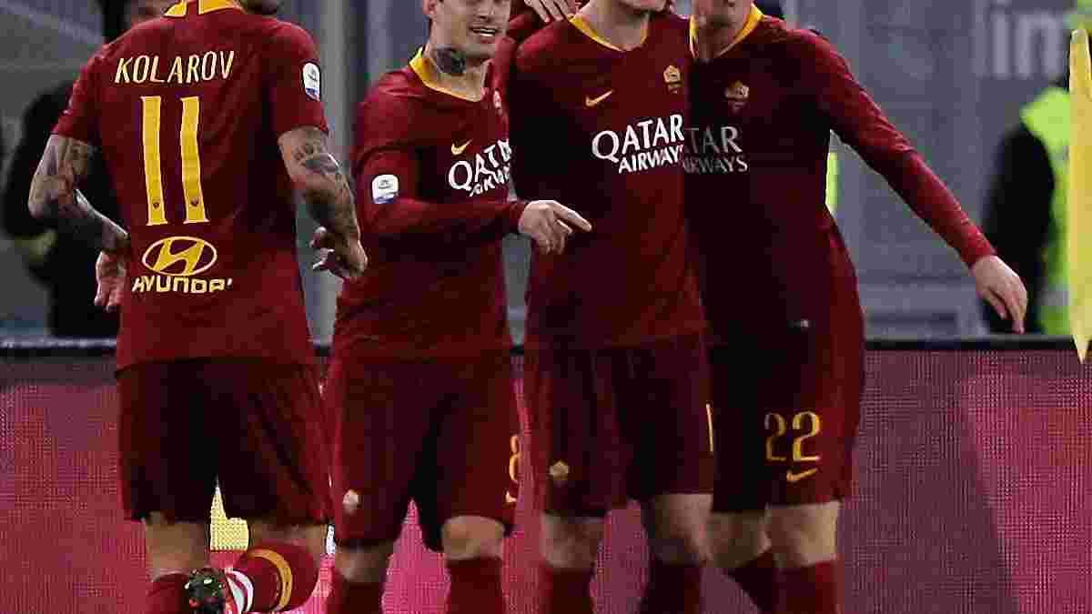 Дзаньйоло присоромив захист Сассуоло – розкішний дебютний гол півзахисника Роми
