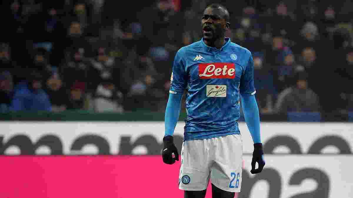 Интер проведет два матча без зрителей – миланцы наказаны за расистские выкрики фанатов в адрес Кулибали