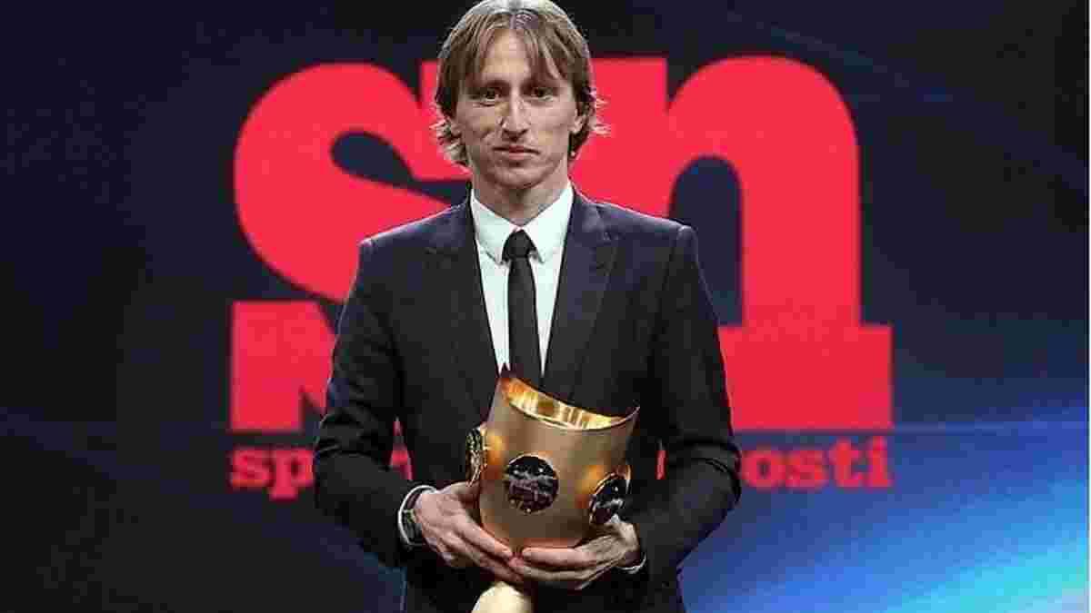 Модрич получил награду лучшему спортсмену года Балкан