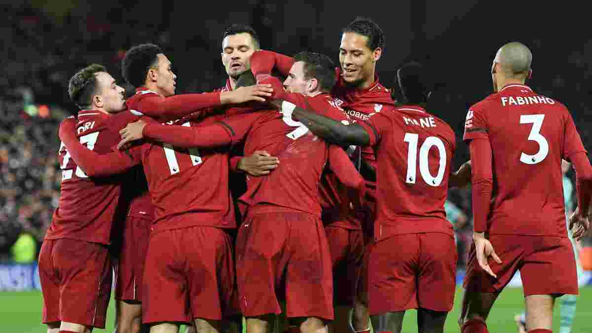 Ливерпуль – Арсенал – 5:1 – видео голов и обзор матча