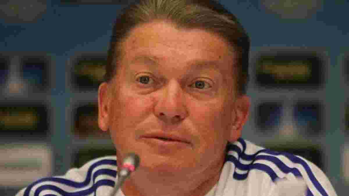 Блохін розповів, чому став функціонером та припинив тренерську діяльність
