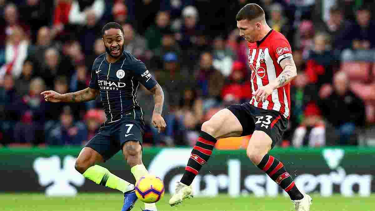 Саутгемптон – Манчестер Сіті – 1:3 – відео голів та огляд матчу