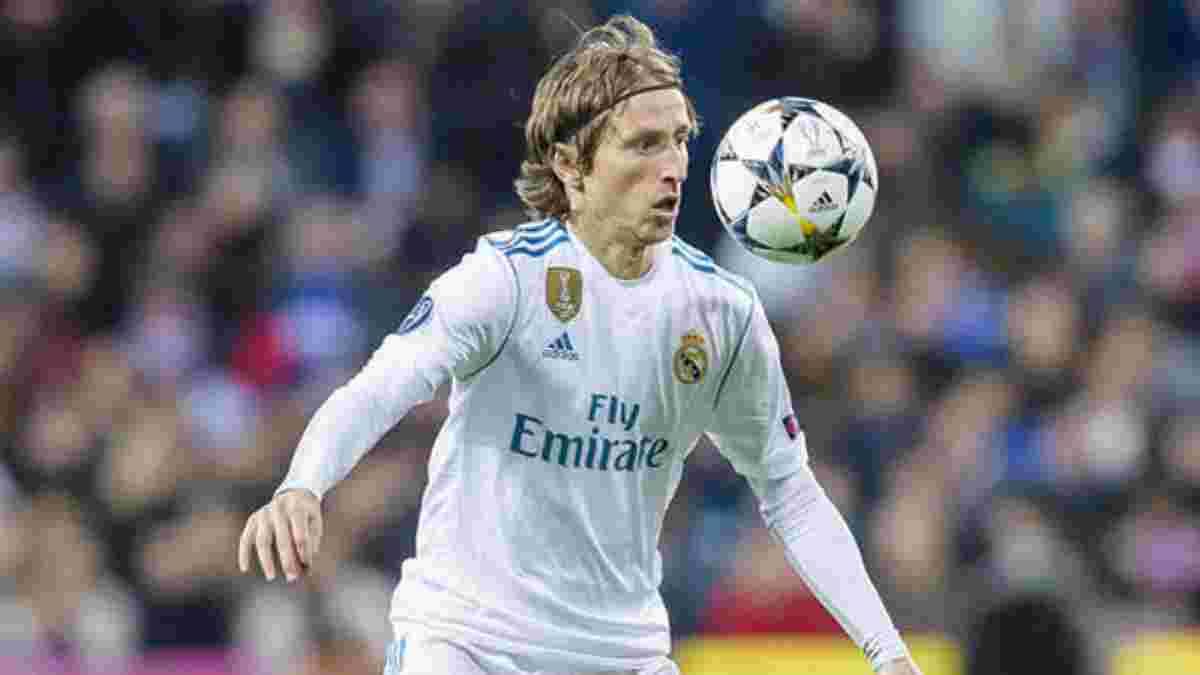 Модріч відхилив першу пропозицію Реала про продовження контракту
