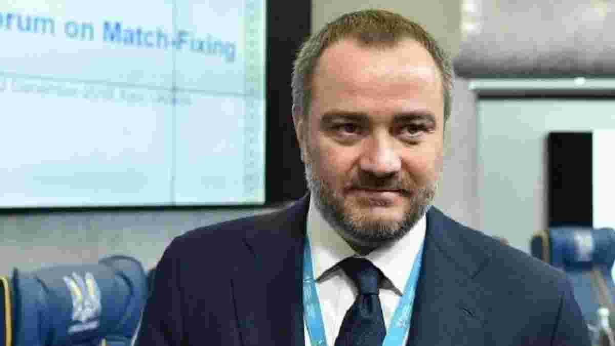Павелко: У Головка величезний потенціал та велике майбутнє