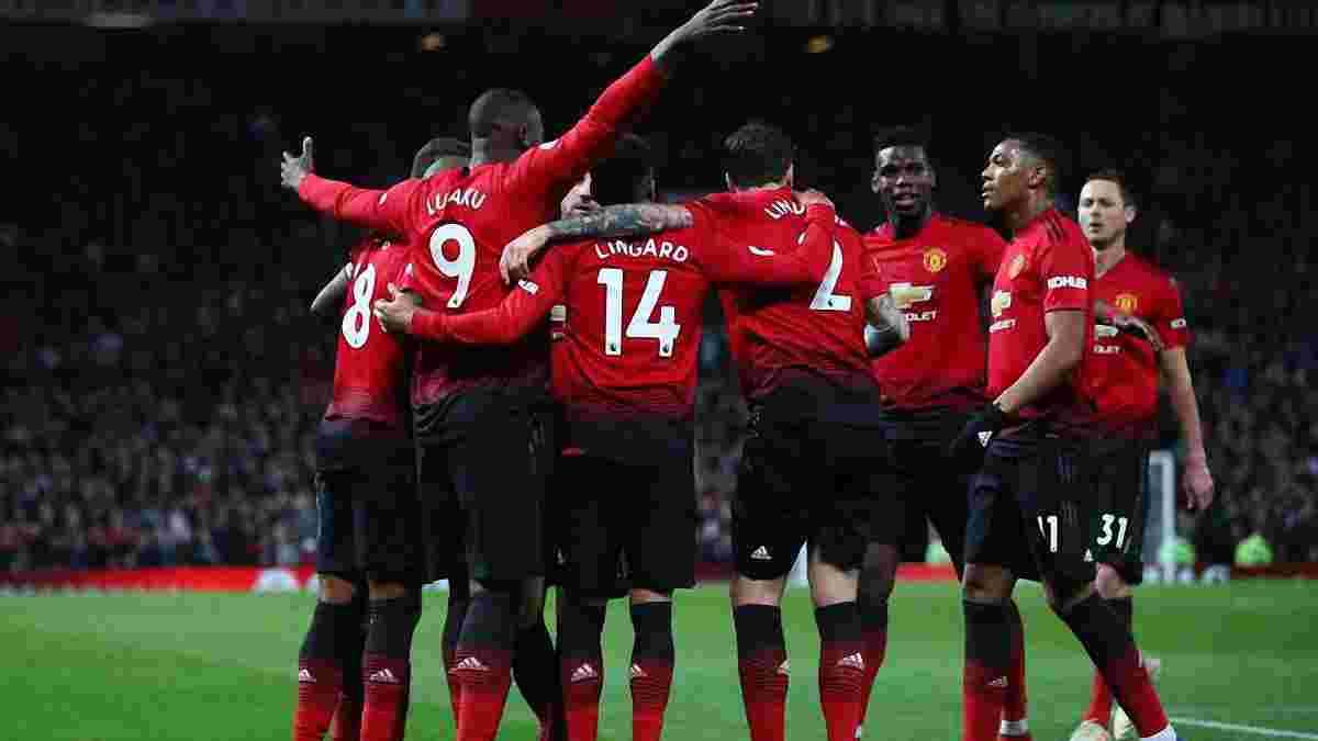 Манчестер Юнайтед вперше за 7 років забив 12 м'ячів у трьох матчах