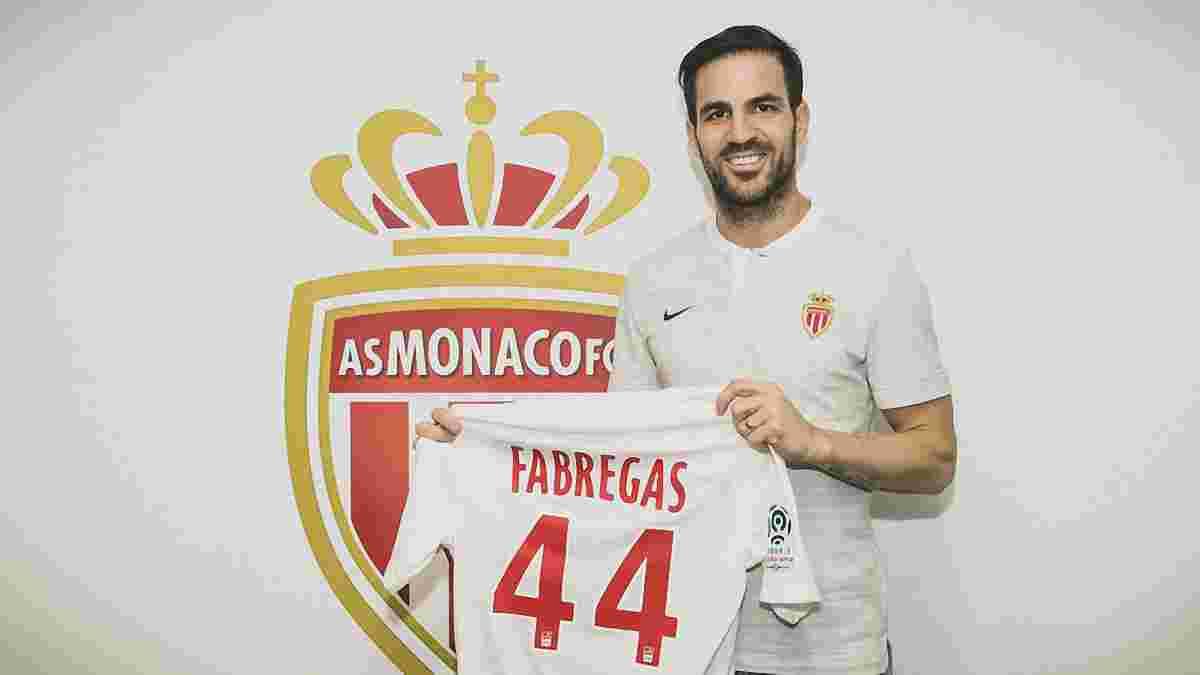 Фабрегас офіційно перейшов у Монако – клуб ефектно представив хавбека
