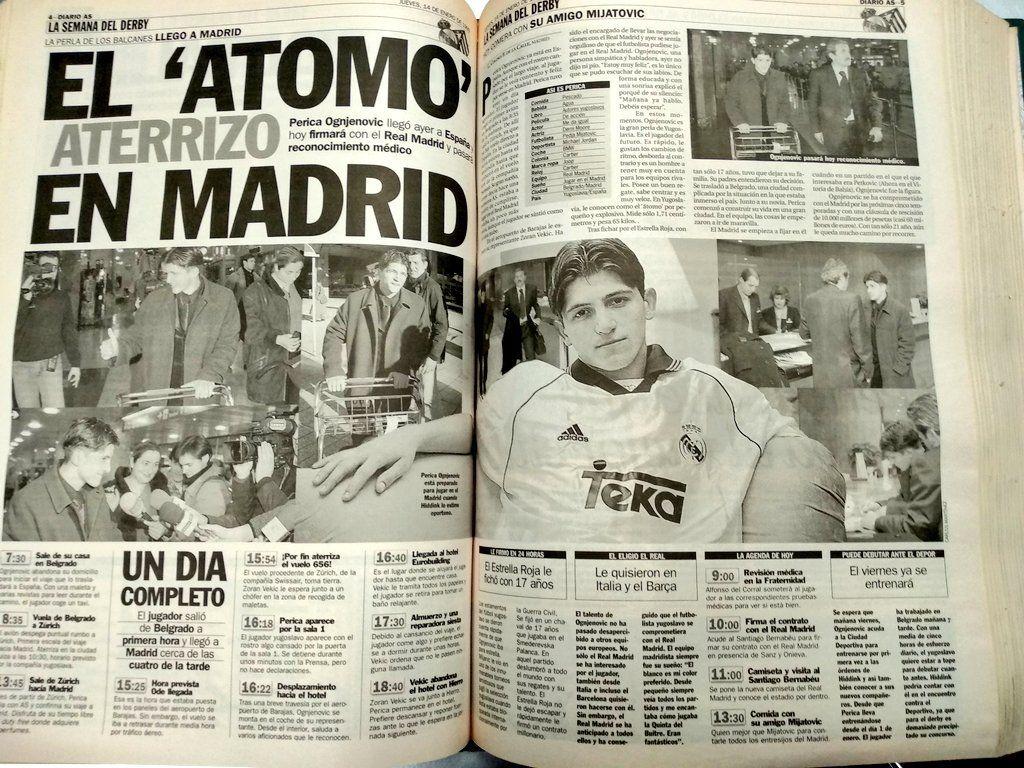 Перица Огненович, Реал Мадрид, Динамо