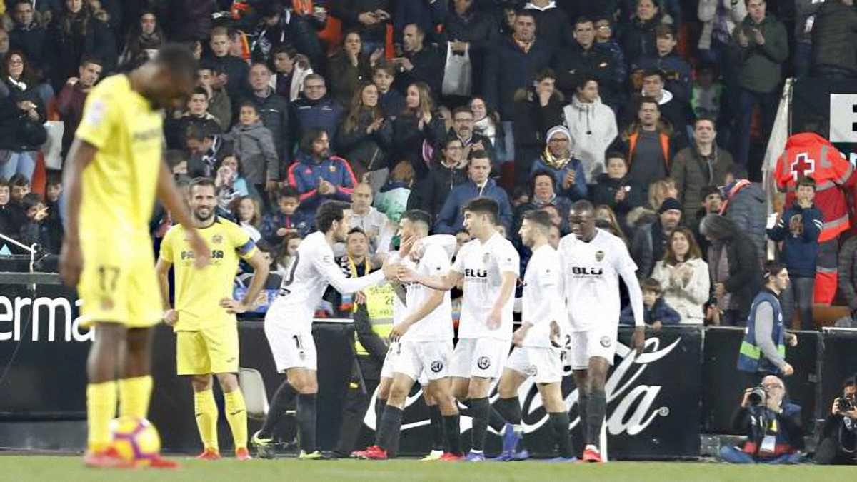 Валенсія розгромно перемогла Вільяреал: 21 тур Ла Ліги, матчі суботи