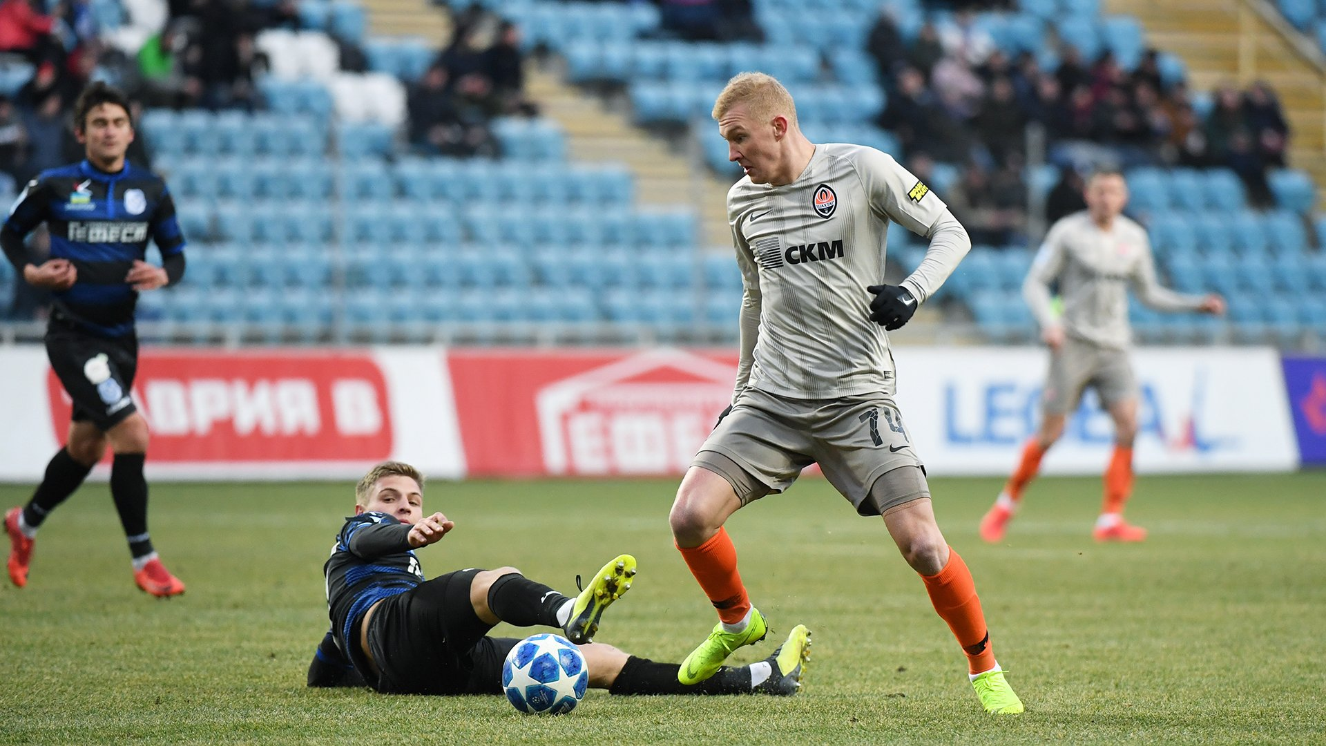 Черноморец – Шахтер – 0:1 – видео гола и обзор матча