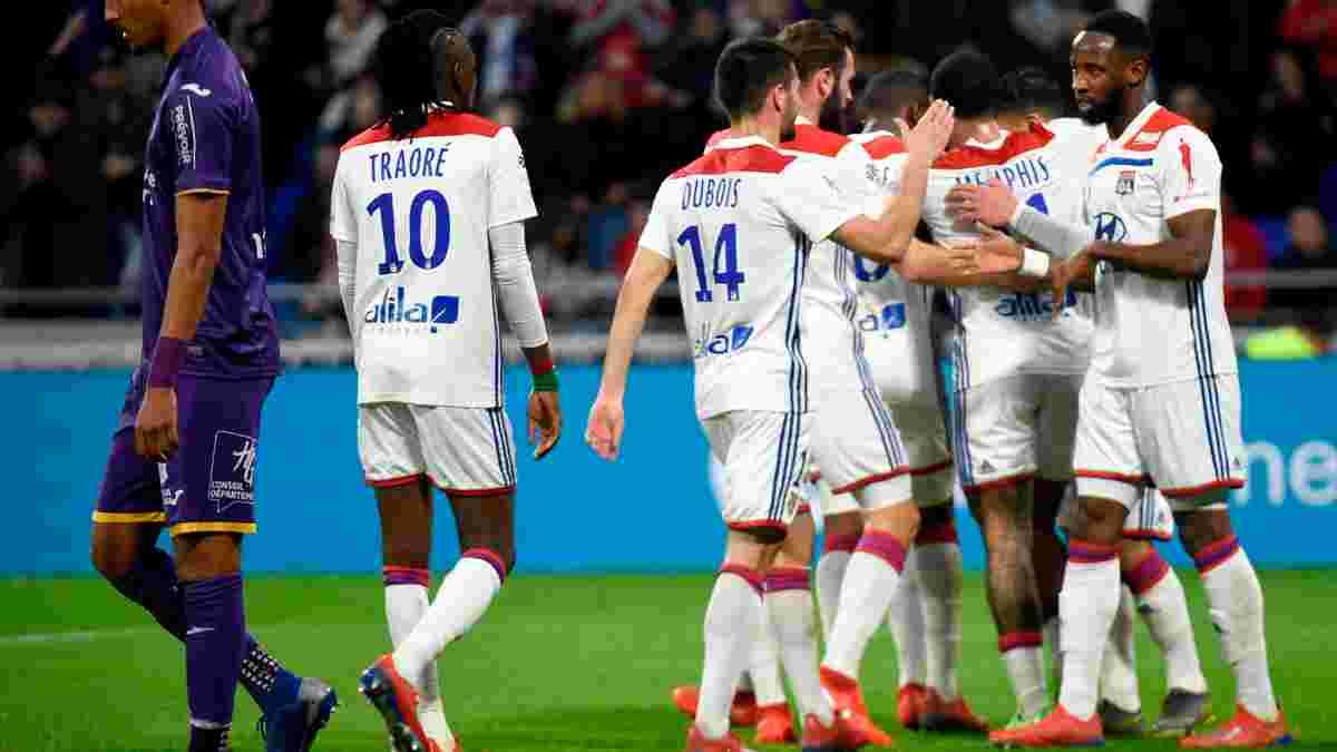 Ліон – Тулуза – 5:1 – відео голів та огляд матчу