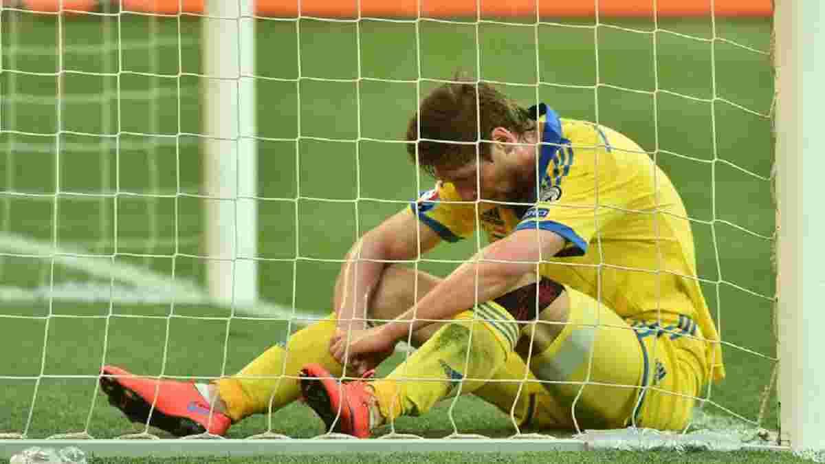 """""""Є дно, а є ще нижче – отам нижче були ми"""", –  Селезньов розповів про причини провалу збірної України на Євро-2016"""
