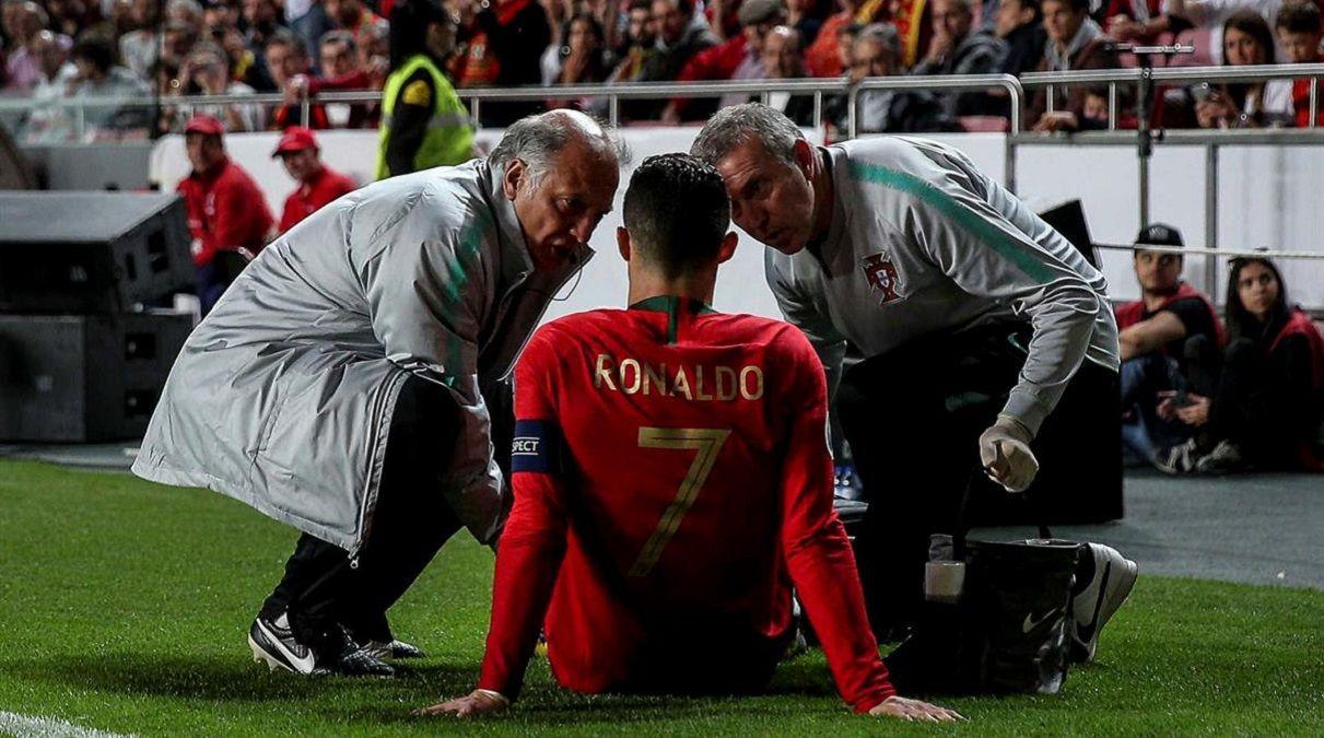 Португалія – Сербія: Роналду отримав пошкодження та покинув поле