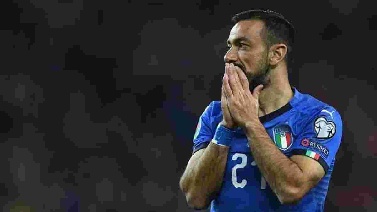 Квальярелла став найстаршим автором гола в історії збірної Італії