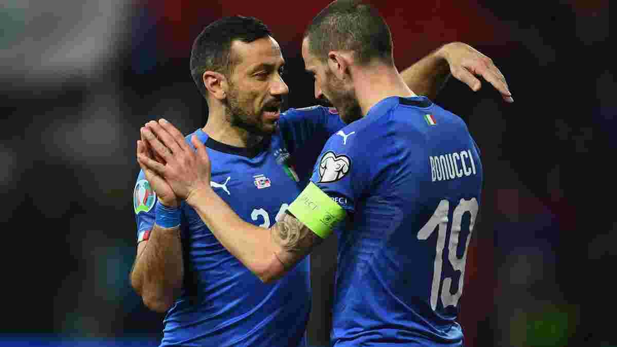 Італія – Ліхтенштейн – 6:0 – відео голів та огляд матчу