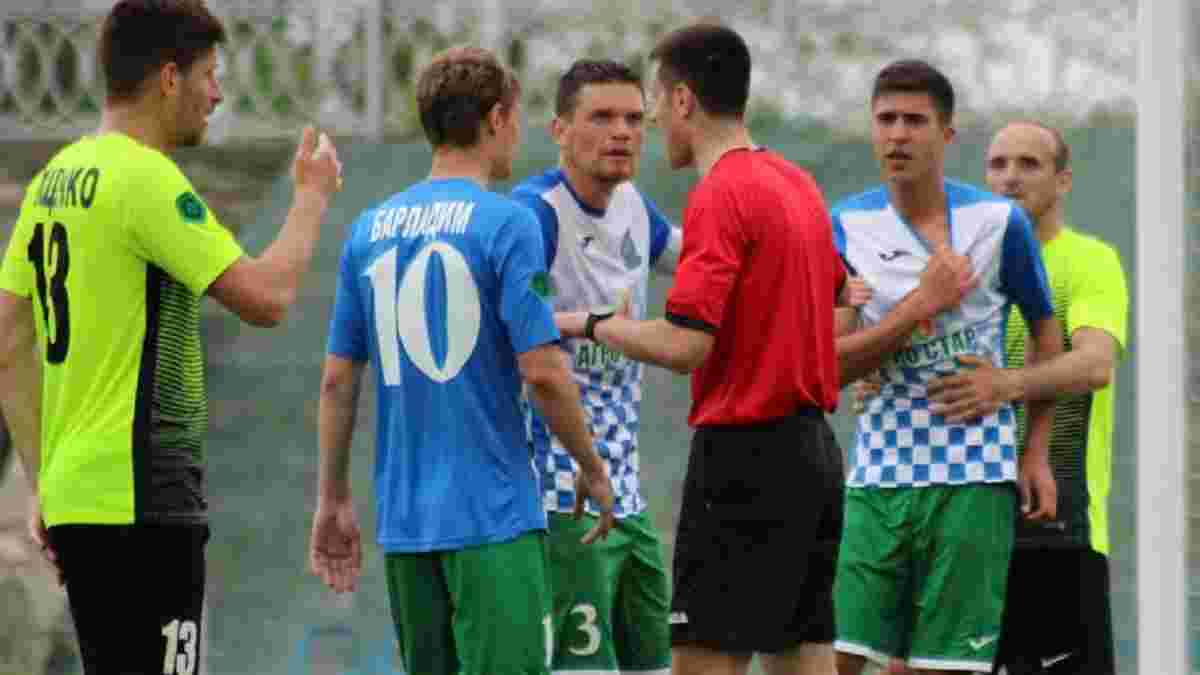 Відео курйозного гола з Другої ліги – арбітр не помітив, що на полі два м'ячі