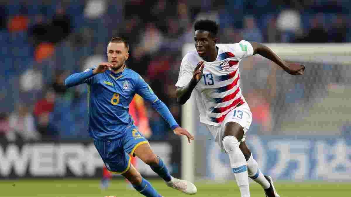 Украина U-20 – США U-20 – 2:1 – видео голов и обзор матча