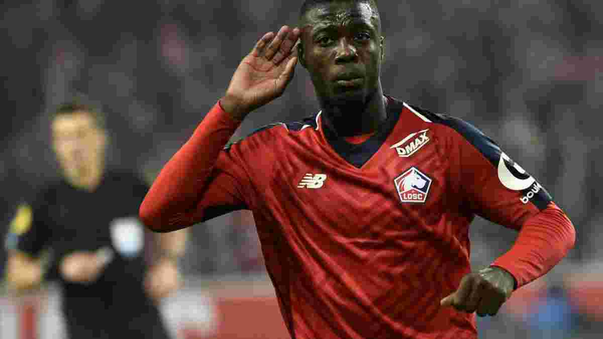 Арсенал підписав Ніколя Пепе – трансфер став рекордним в історії клубу