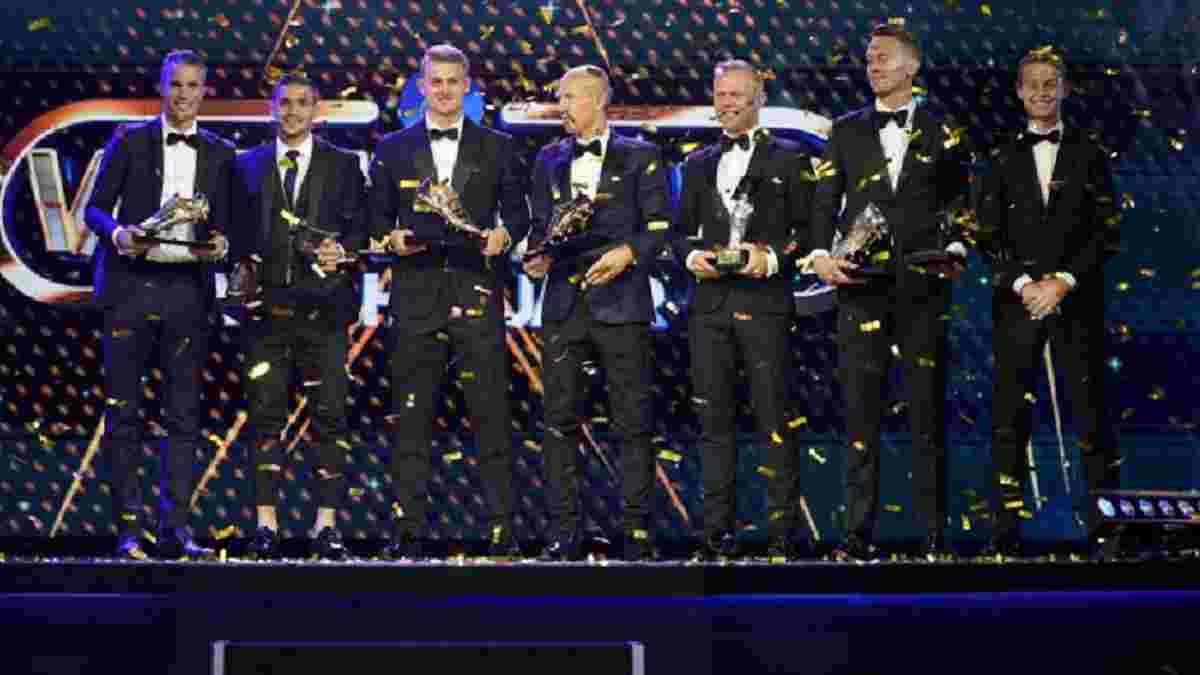 Де Лігт, де Йонг і Тадіч отримали нагороди за неймовірний сезон в Ередивізі