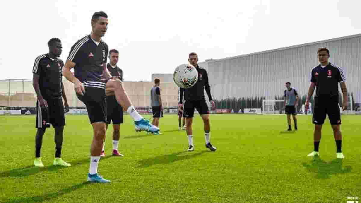 Роналду повернувся у склад Ювентуса після травми