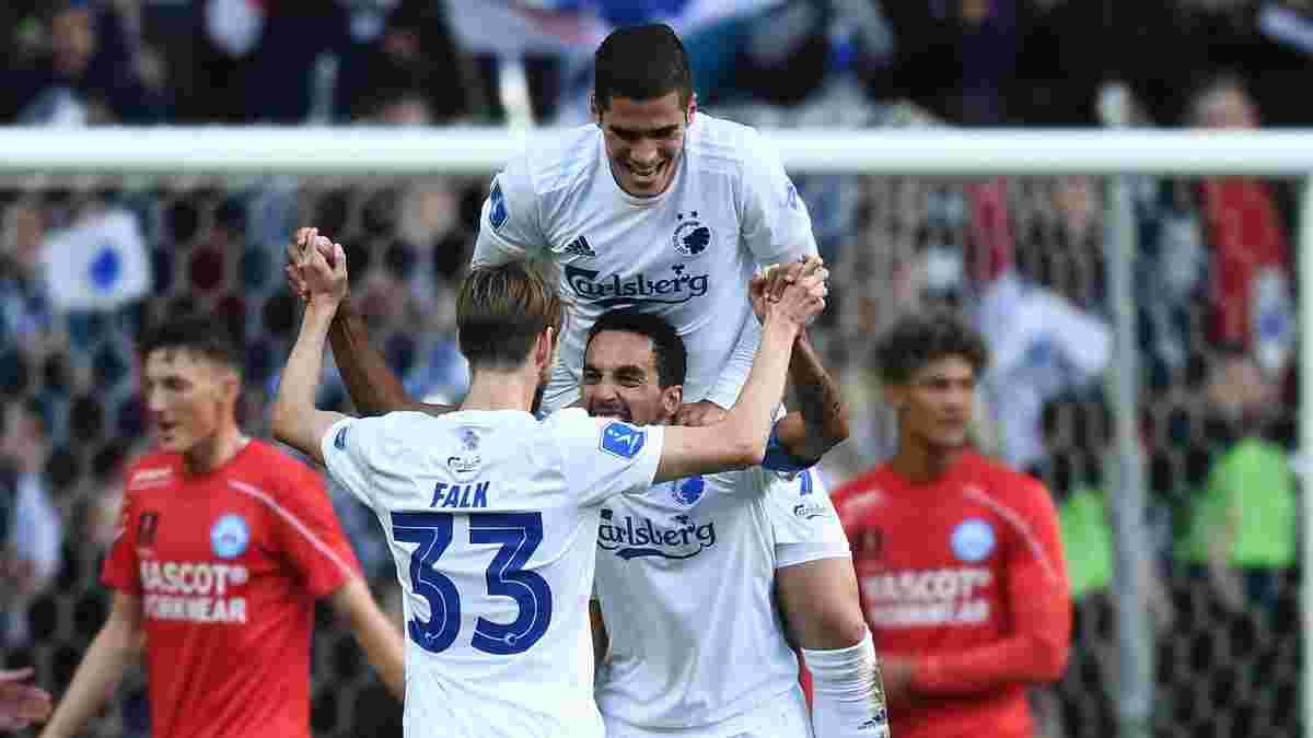 Копенгаген запугивает Динамо уверенной победой в матче чемпионата Дании