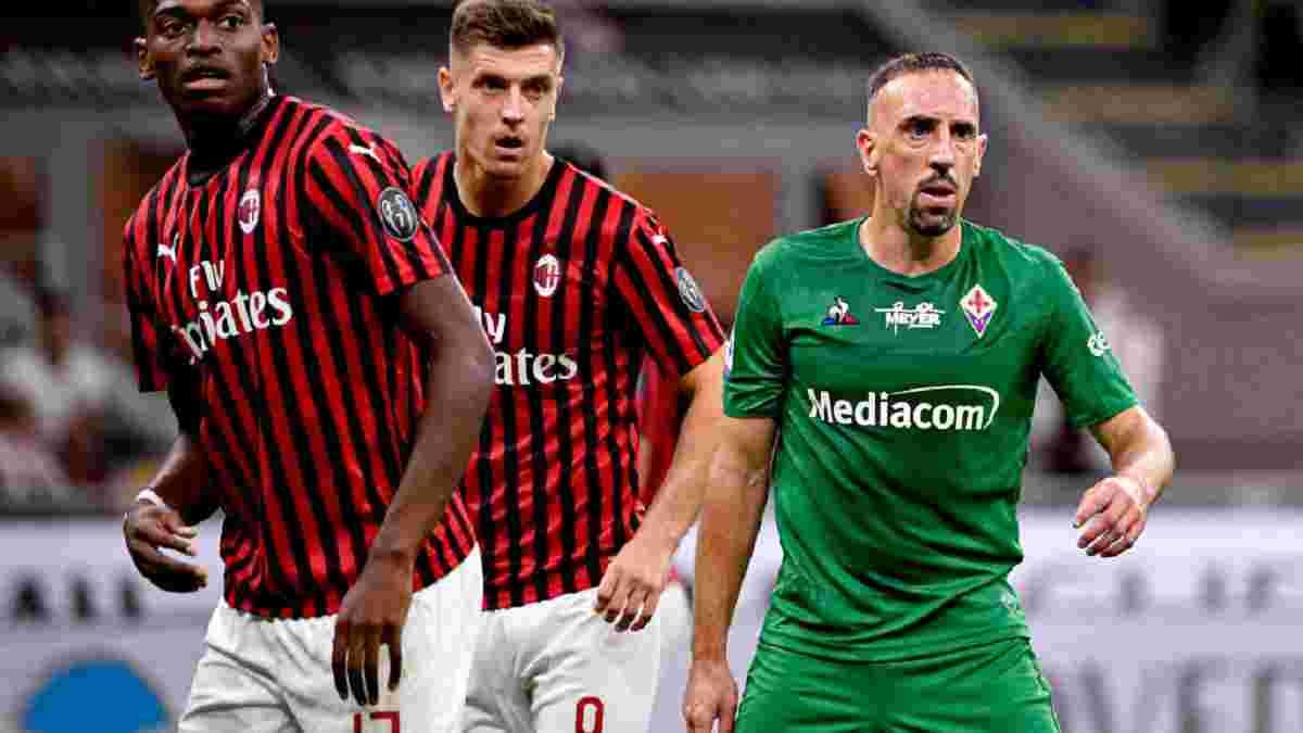 Эффектные голы Рибери и Леау в видеообзоре матча Милан – Фиорентина – 1:3