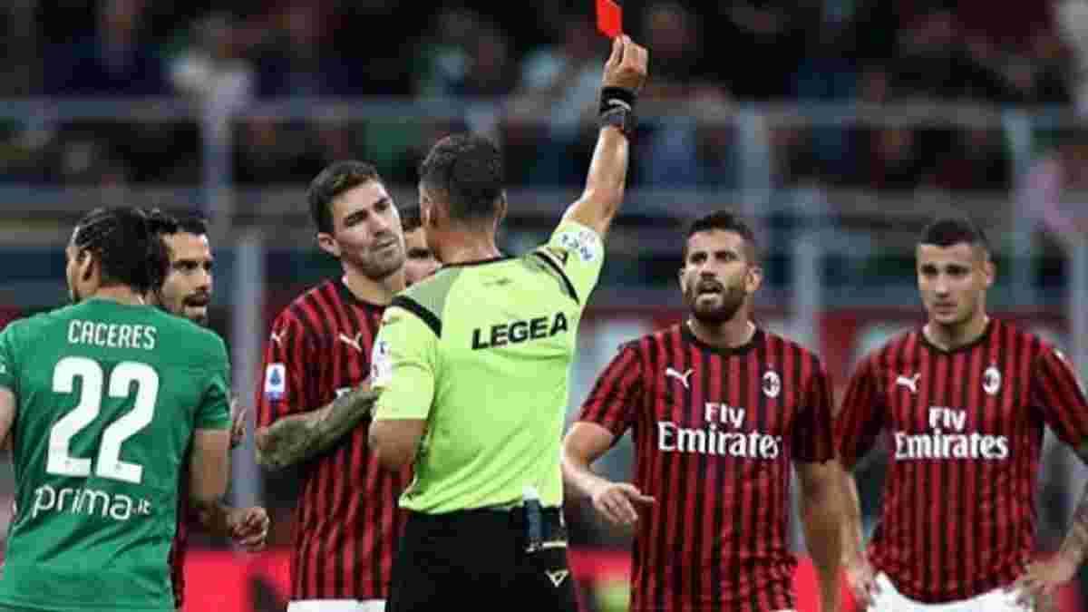 Милан продемонстрировал худший старт в чемпионате Италии за 81 год