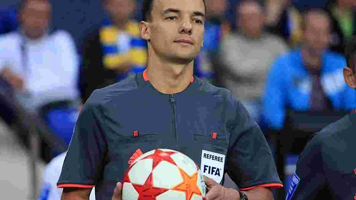 УЕФА назначил украинскую бригаду арбитров на матч Лиги Европы между командами топ-чемпионатов