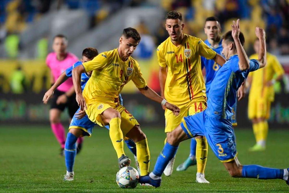 """Румыния разгромила Украину в отборе к Евро-2021 U-21: полное игровое фиаско, """"двойка"""" Ротаню и незаметность лидеров"""