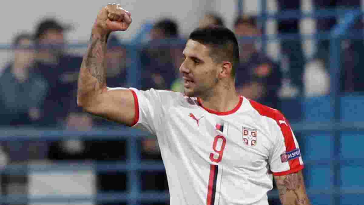 Сербия на последних минутах вырвала победу в спарринге над Парагваем