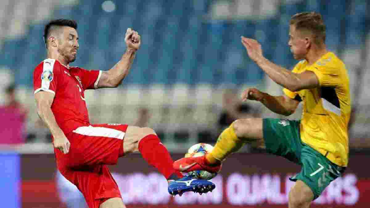 Сербія у складному матчі здолала Литву і завдяки Україні покращила свої шанси на вихід з групи