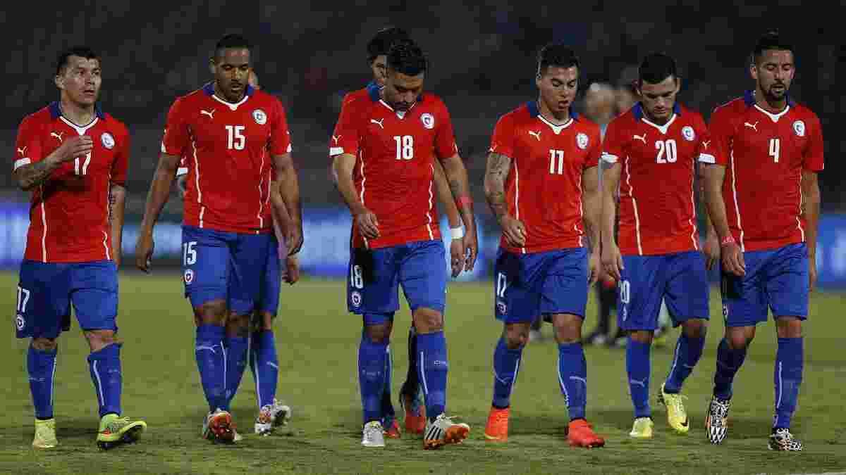 Федерація футболу Чилі призупинила всі внутрішні змагання