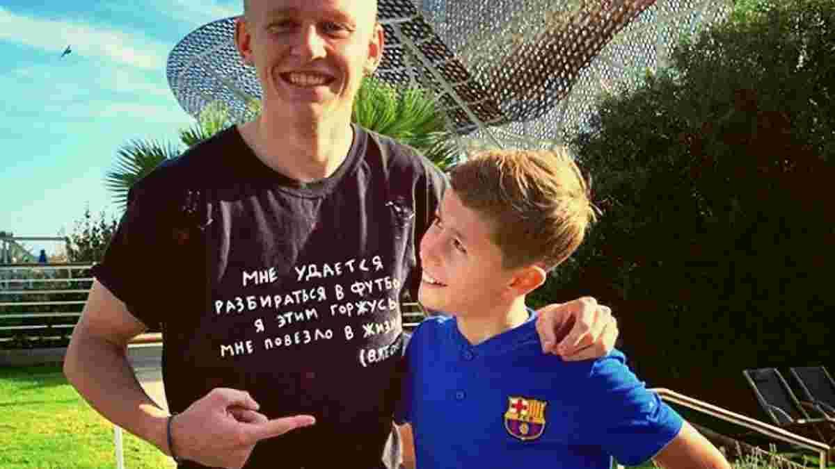 """""""Малюк, не зазнайся"""": як живеться українському вундеркінду в академії Барселони – йому респектують Зінченко та Анелька"""