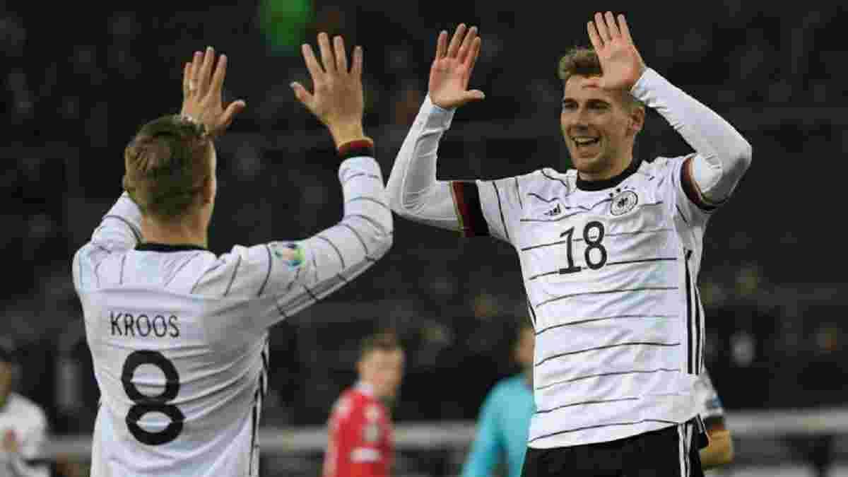 Німеччина – Білорусь – 4:0 – відео голів та огляд матчу