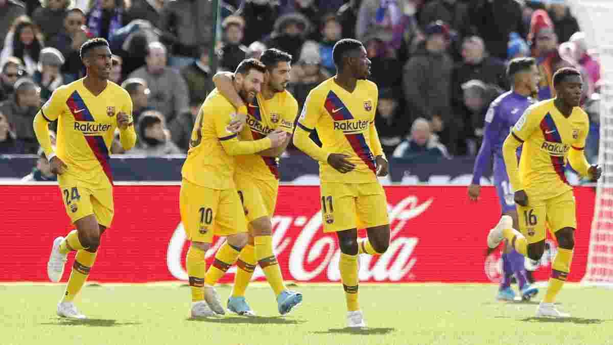 Леганес – Барселона: Вальверде, теніс, кошмар – у такому порядку, або Каталонців рятує провал Грізманна
