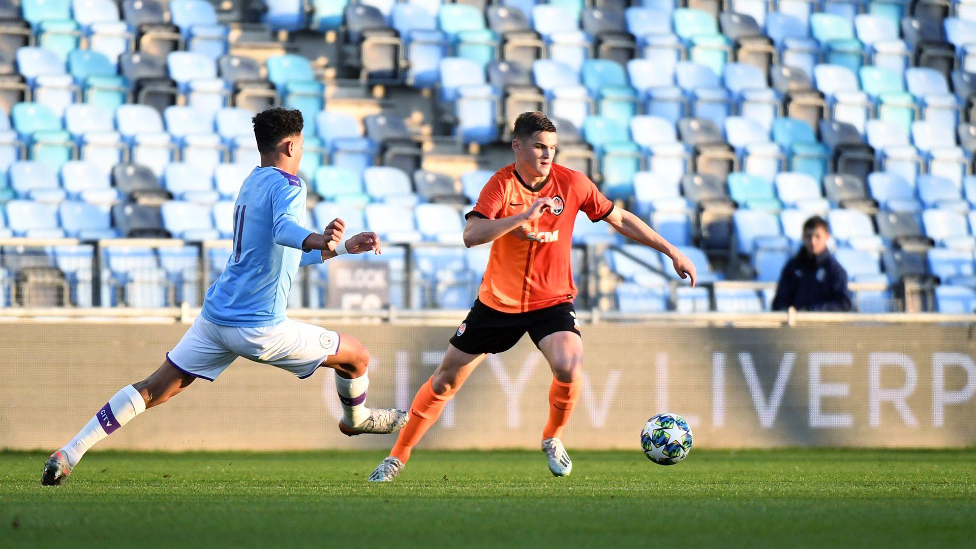 Повне фіаско Шахтаря U-19  у відеоогляді матчу проти Манчестер Сіті U-19