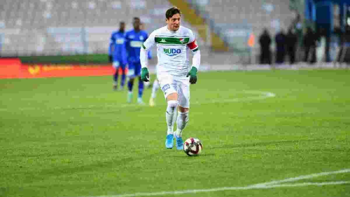 Селезньов відзначився голом у Кубку Туреччини, однак не врятував Бурсаспор від поразки